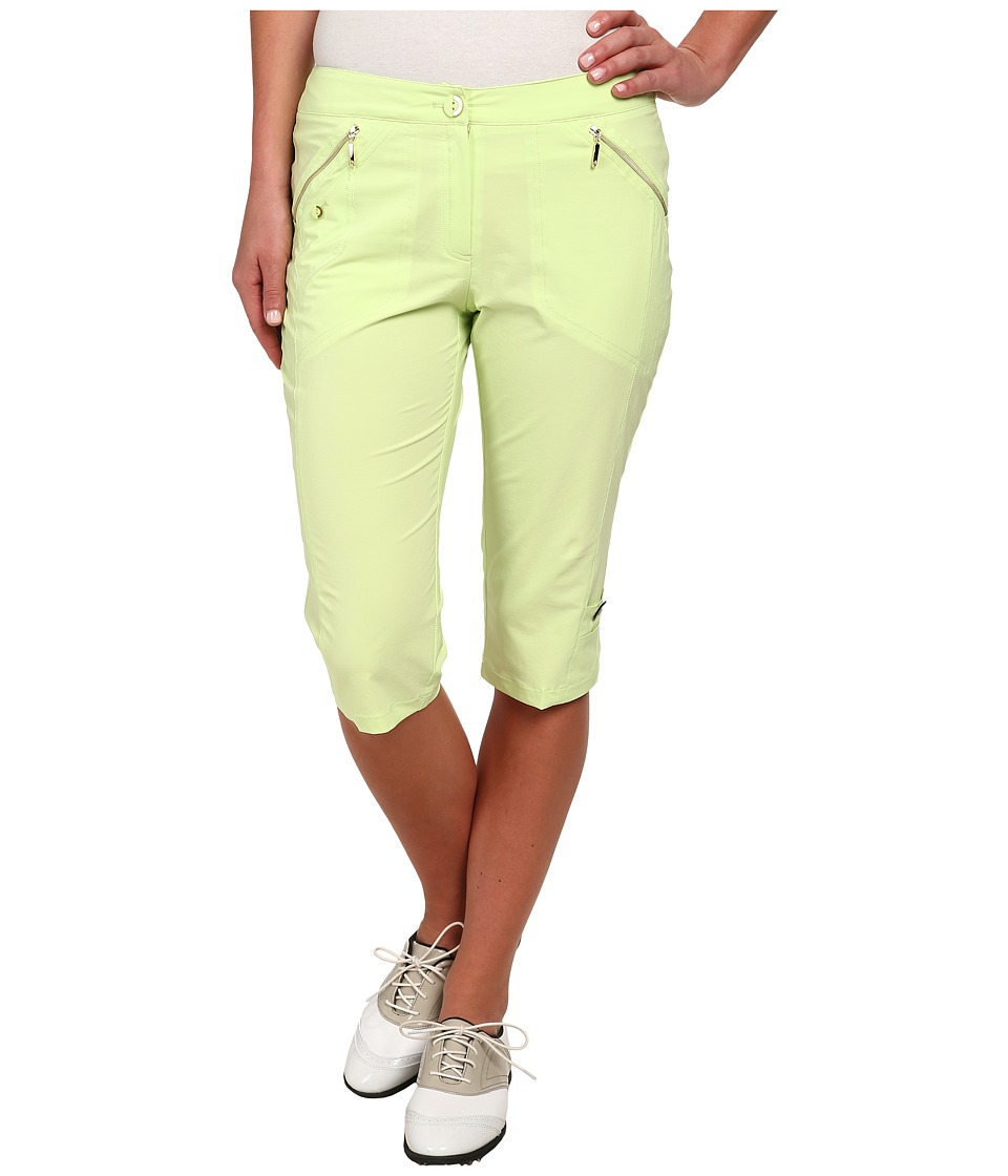Jamie Sadock - Airwear Light Weight 24 in. Knee Capri (Pistachio) Women's Capri