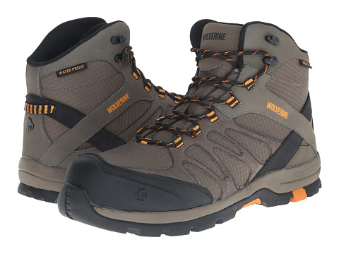Wolverine - Fletcher Composite Toe Hiker (Taupe) Men's Work Boots