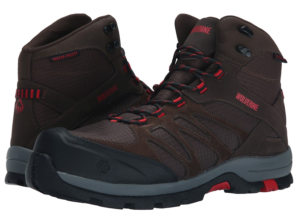 Wolverine - Fletcher Composite Toe Hiker (Brown) Men's Work Boots
