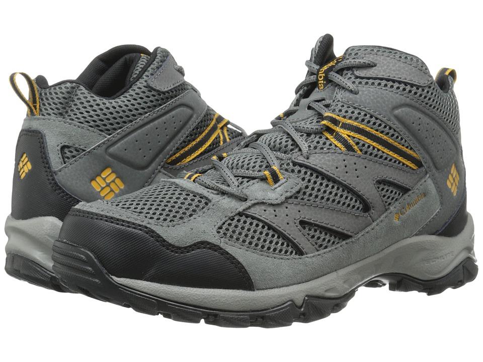 Columbia - Plains Ridge Mid (Grill/Squash) Men's Hiking Boots