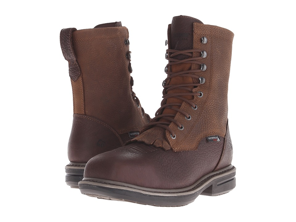 Wolverine - Roscoe Lacer 8 Composite Toe Boot (Brown) Men
