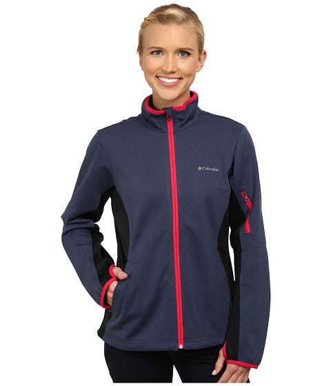 Columbia - Comin' In Hot Full Zip (Nocturnal) Women's Coat