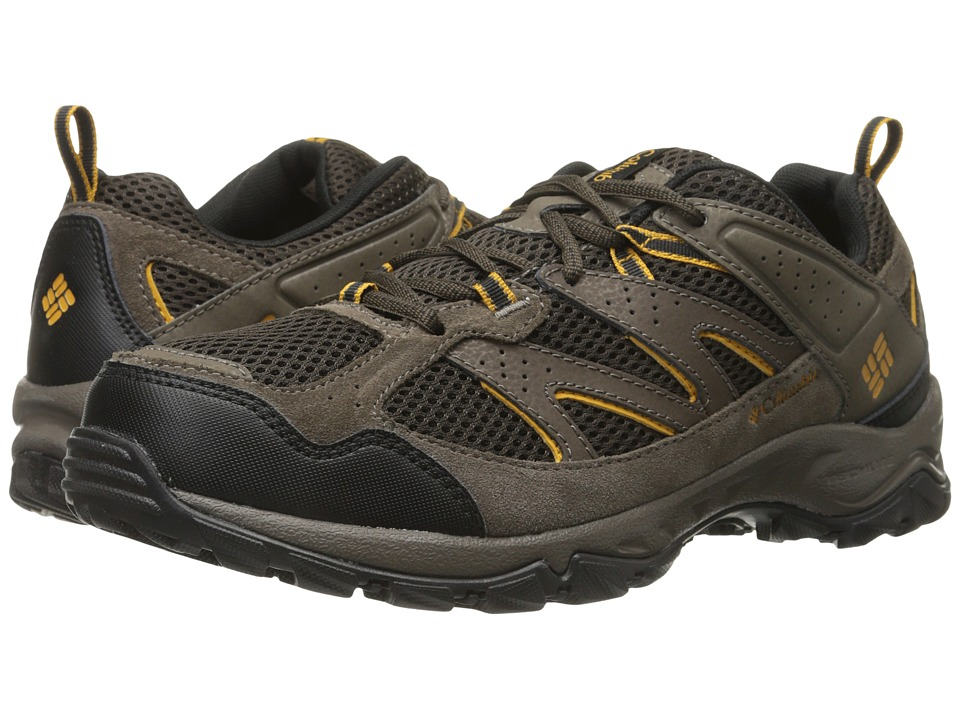 Columbia - Plains Ridge (Cordovan/Squash) Men's Shoes