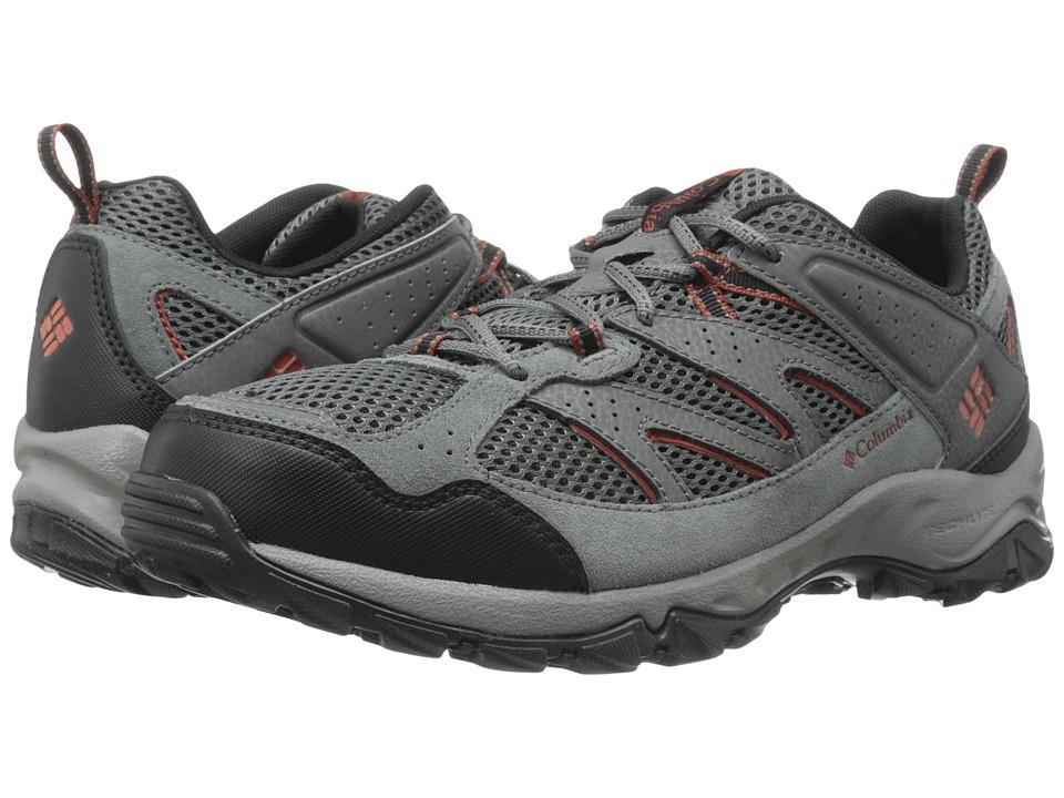 Columbia - Plains Ridge (Cordovan/Squash) Men's Shoes
