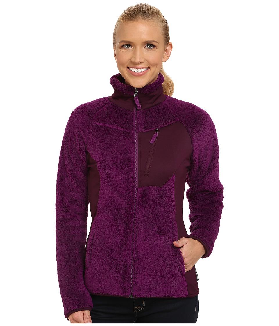 Columbia - Double Plush Sporty Full Zip (Plum) Women's Coat