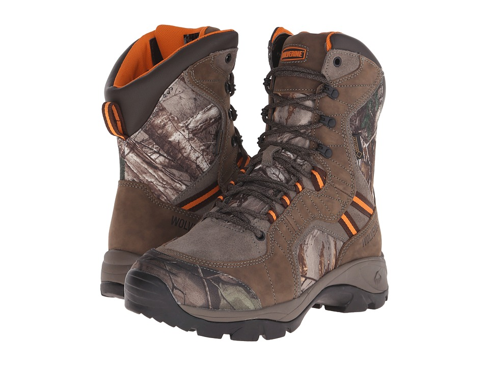 Wolverine - Edge Extreme 8 Boot (Peat) Men's Hiking Boots