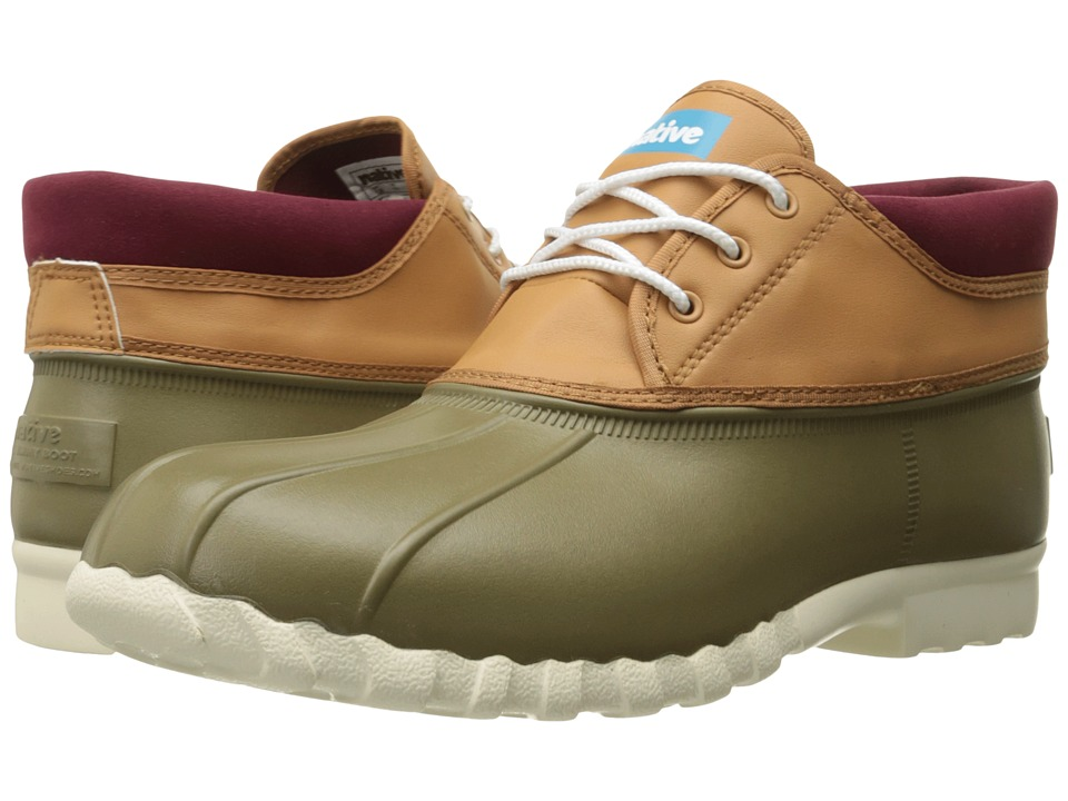 Native Shoes - Jimmy Mid (Utili Green/Llama Brown/Bone White) Shoes