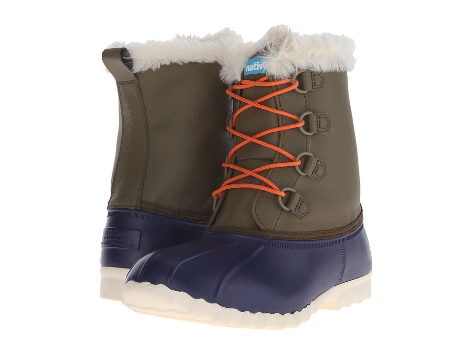Native Shoes - Jimmy 2.0 (Regatta Blue/Utili Green/Bone White) Shoes