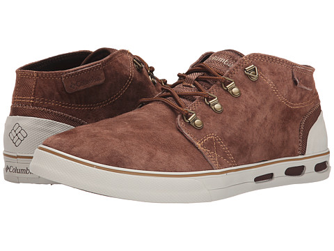 Columbia - Vulc N Vent Half Dome (Tobacco/Stone) Men's Lace up casual Shoes