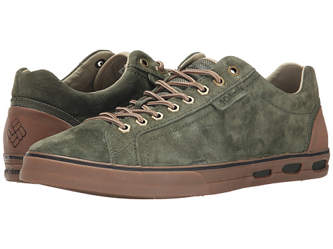 Columbia - Vulc N Vent Camp 4 (Surplus Green/British Tan) Men's Lace up casual Shoes