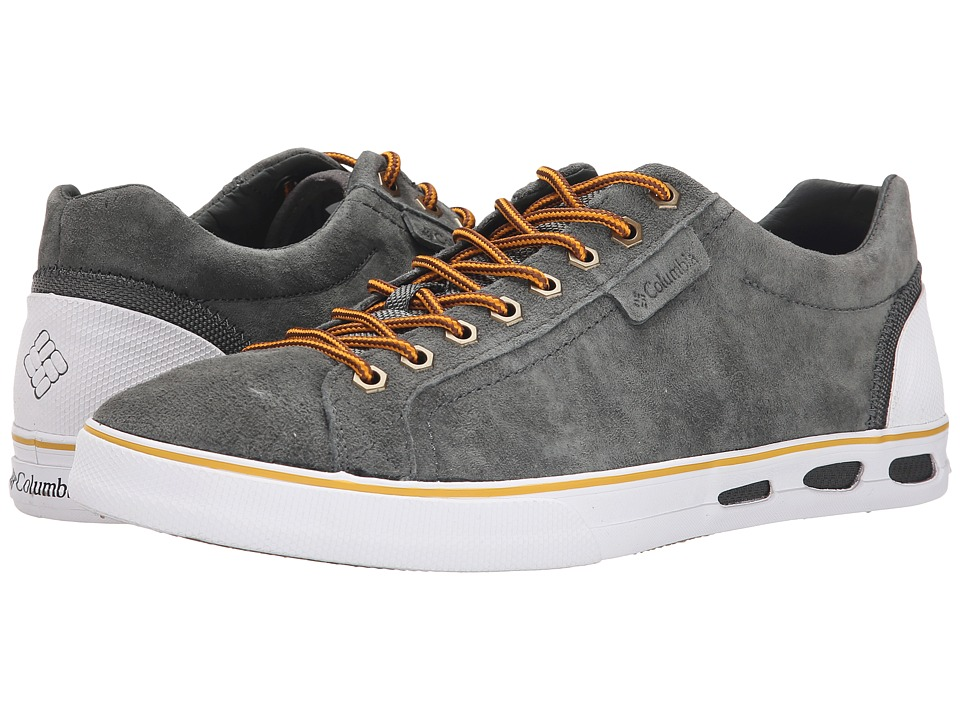 Columbia - Vulc N Vent Camp 4 (Grill/White) Men's Lace up casual Shoes