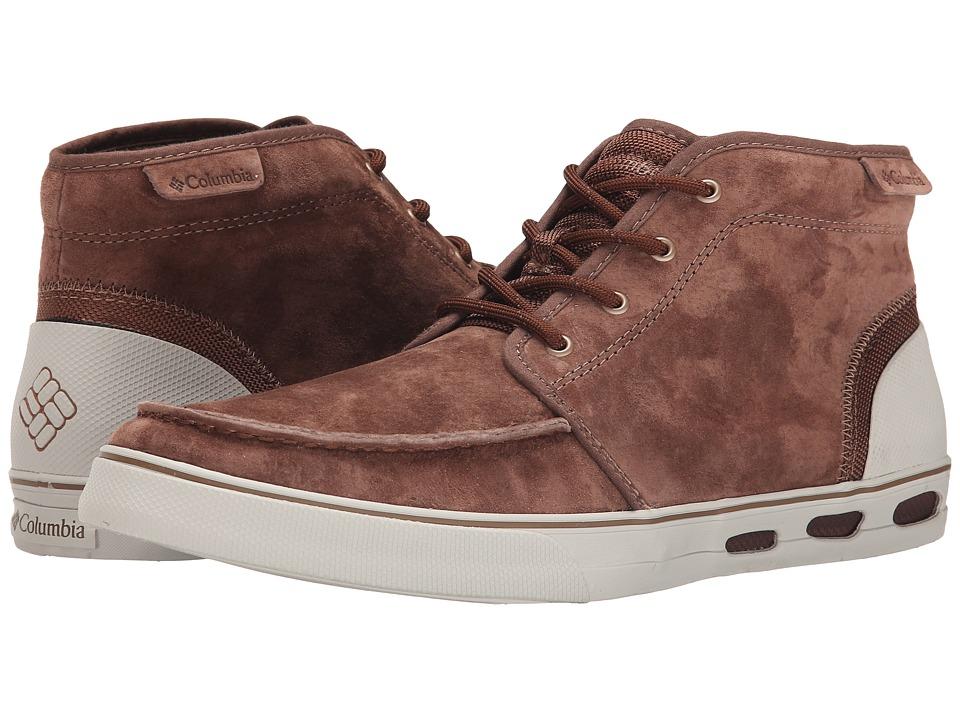 Columbia Vulc N Vent Chukka Leather (Tobacco/Stone) Men