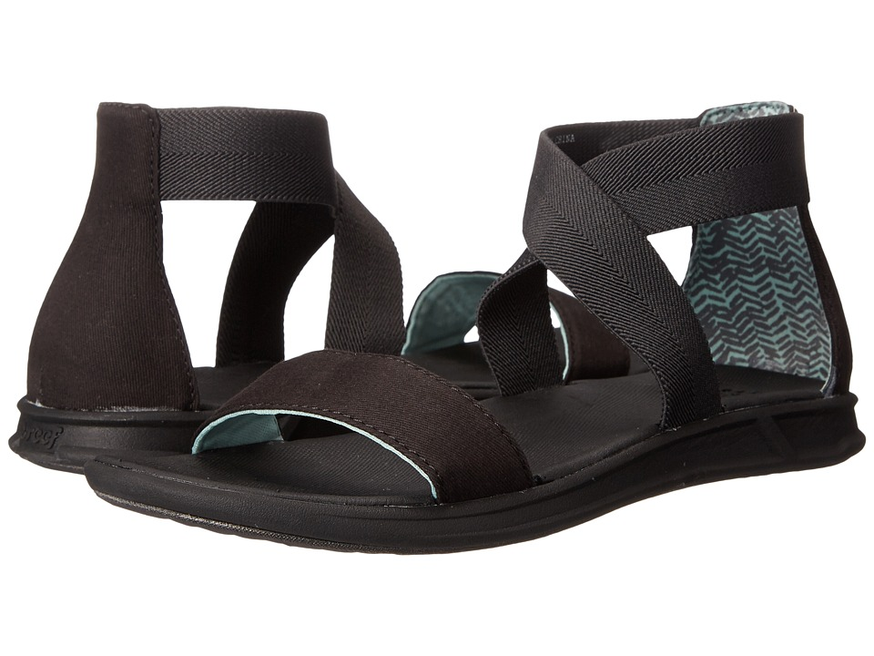 Reef - Rover Hi (Black) Women's Sandals