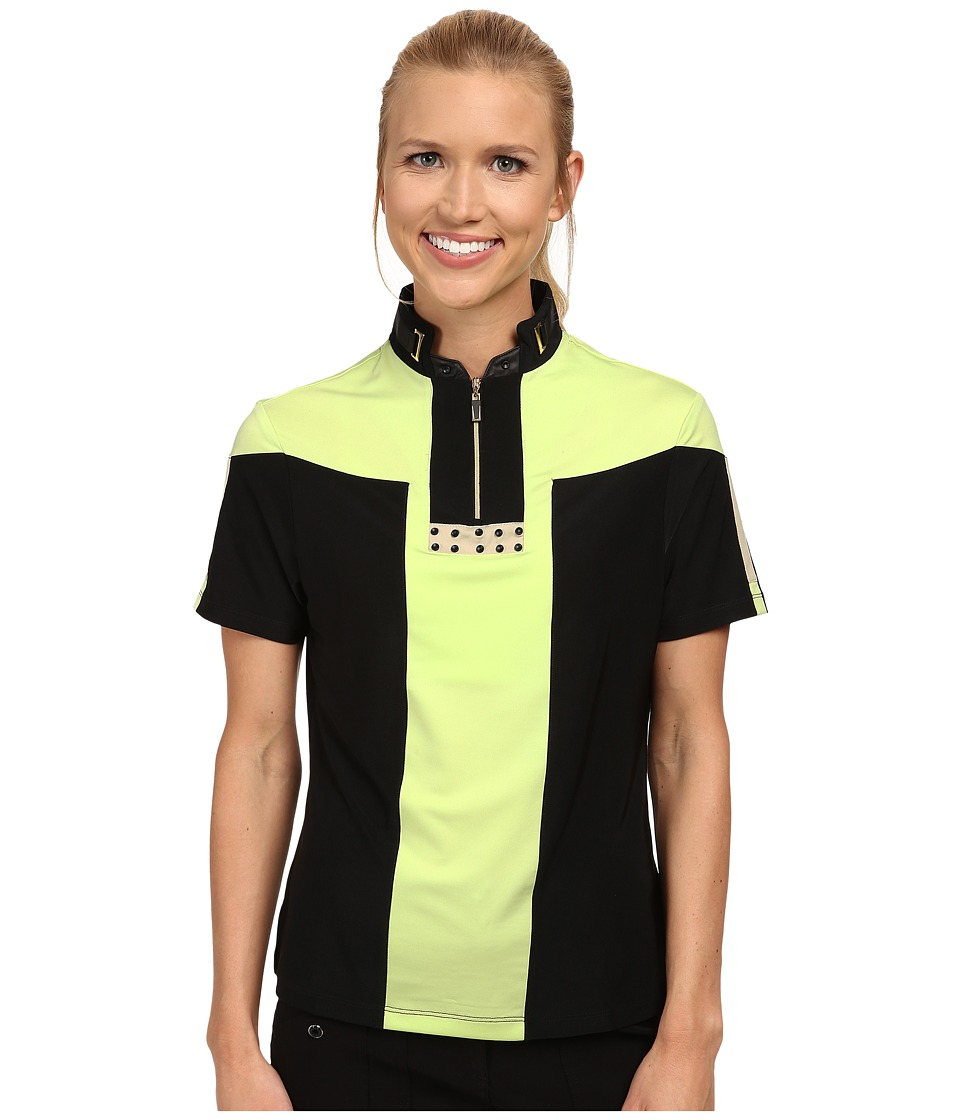 Jamie Sadock - Christy Short Sleeve Top (Pistachio) Women's Short Sleeve Knit