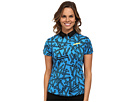 Chopstix Print Short Sleeve Top