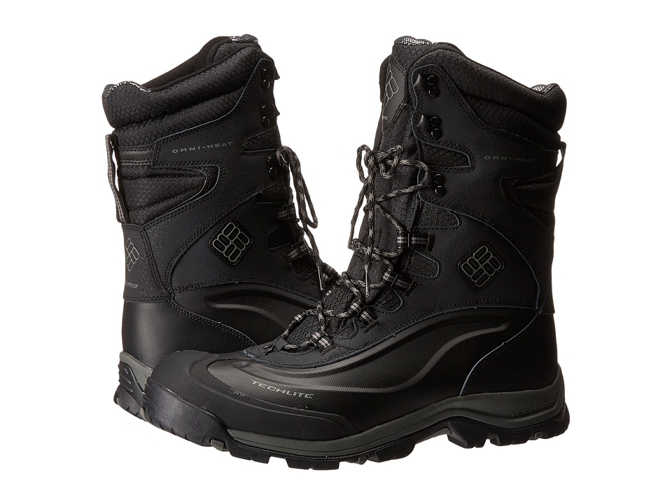 Columbia - Bugaboot Plus III XTM Omni-Heat (Black/Charcoal) Men's Cold Weather Boots