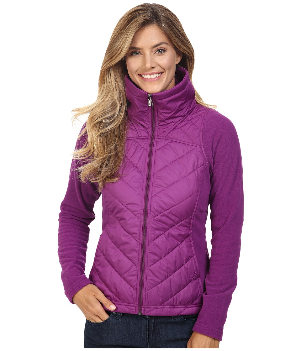 Columbia - Mix It Around Full Zip (Plum) Women's Coat