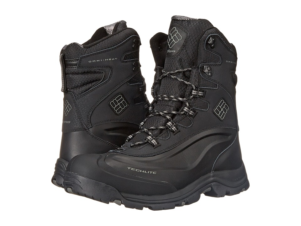 Columbia - Bugaboot Plus III Omni-Heat (Black/Charcoal) Men's Cold Weather Boots