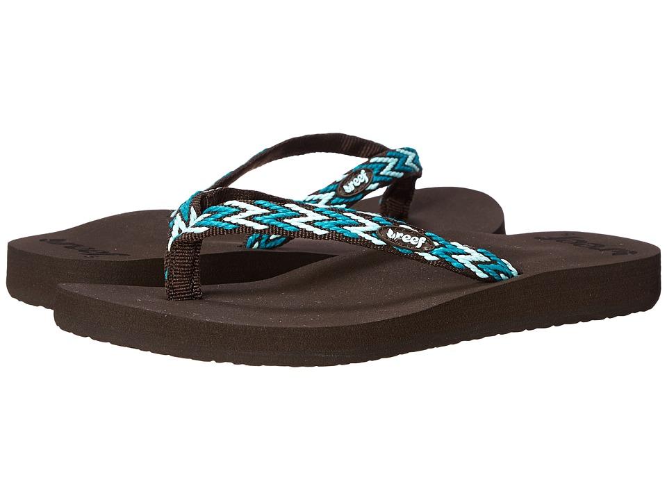 Reef - Ginger Drift (Teal Multi) Women's Sandals