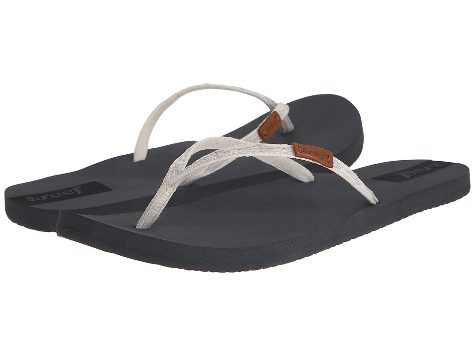 Reef - Slim Ginger (Grey/Silver) Women's Sandals