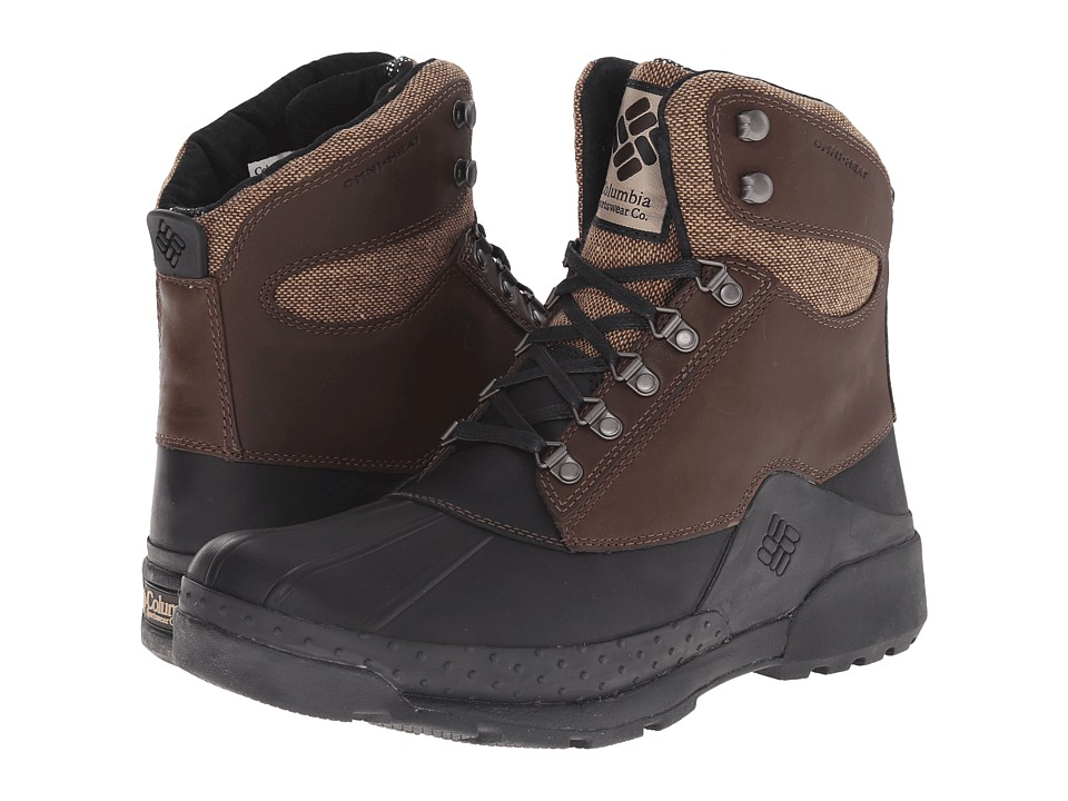 Columbia Bugaboot Original Omni-Heat (Stout/Black) Men