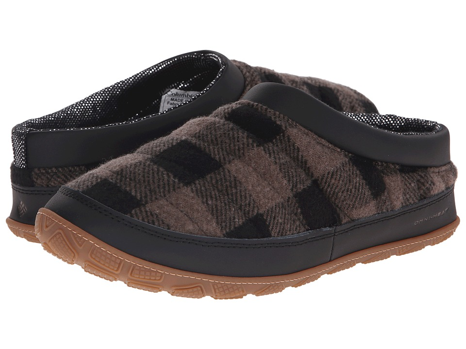 Columbia - Packed Out II Omni-Heat Flannel (Mud/Black) Men