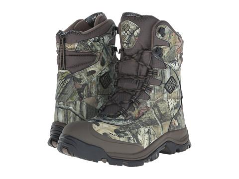 Columbia - Bugaboot Plus III Omni-Heat Camo (Mossy Oak/Black) Men's Cold Weather Boots