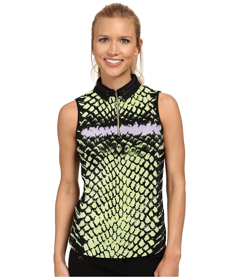Jamie Sadock - Cobra Crunchie Sleeveless Top (Aphrodite) Women's Sleeveless