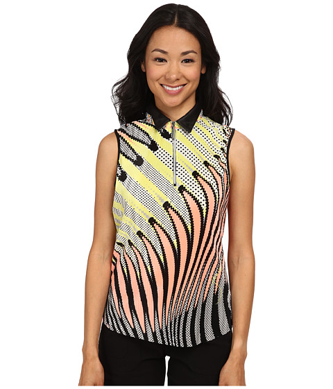 Jamie Sadock - Kaleidoscope Crunchie Sleeveless Top (Sushi) Women's Sleeveless