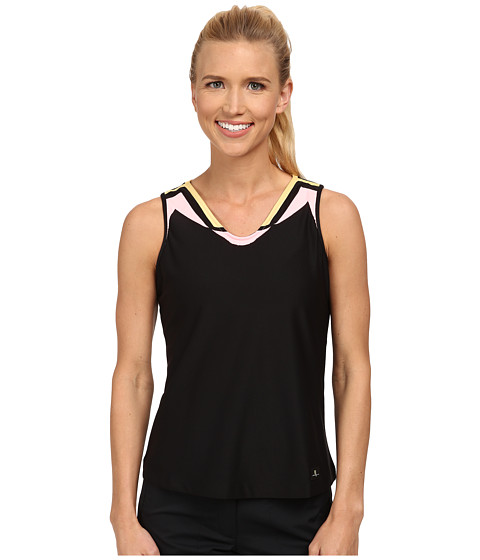 Jamie Sadock - Actif Tank Top (Jet Black 1) Women's Sleeveless