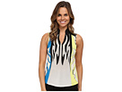 Monarch Print Sleeveless Top