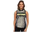 Cobra Print Crunchie Sleeveless Top
