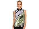 Kaleidoscope Crunchie Sleeveless Top