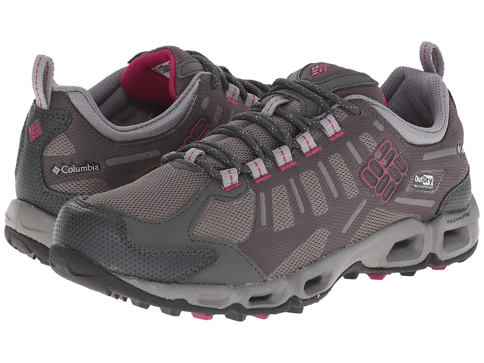 Columbia - Ventfreak Outdry (Grill/Deep Blush) Women's Shoes