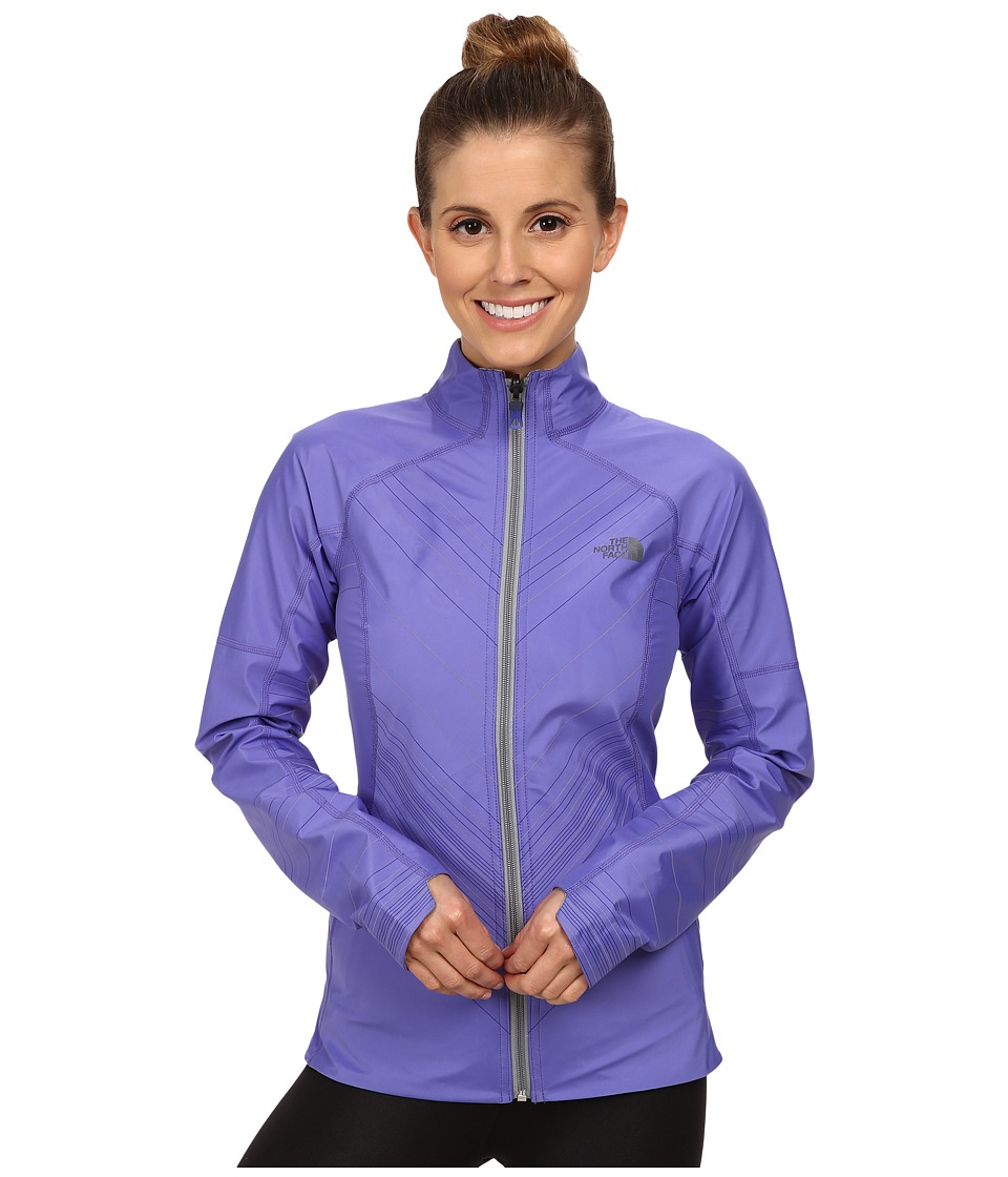 The North Face - Illuminated Reversible Jacket (Starry Purple/Monument Grey Heather) Women's Coat