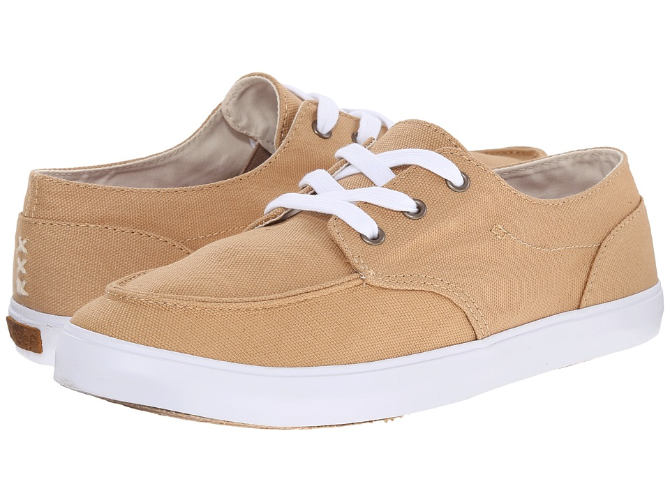 Reef - Deckhand 3 (Tan) Women's Lace up casual Shoes