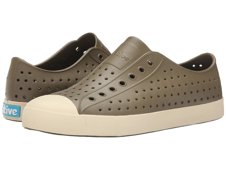 Native Shoes - Jefferson (Utili Green/Bone White) Shoes