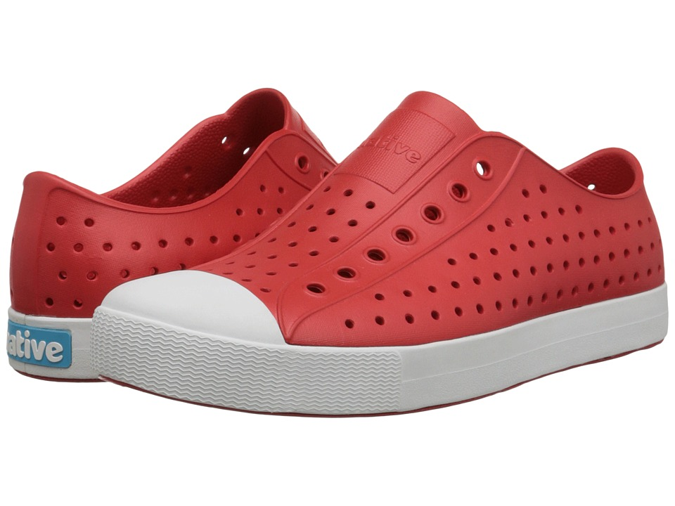 Native Shoes - Jefferson (Torch Red/Shell White) Shoes