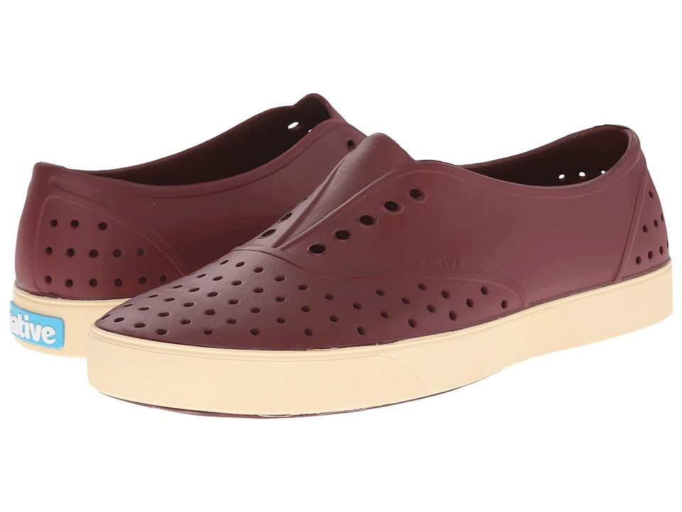 Native Shoes - Miller (Cavalier Red/Bone White) Slip on Shoes