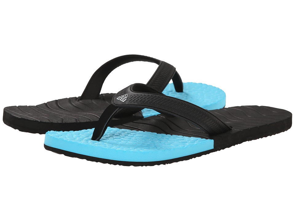Reef - Comboswell (Black/Blue) Men's Sandals