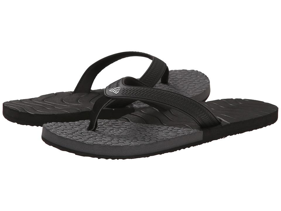Reef - Comboswell (Black/Grey) Men's Sandals