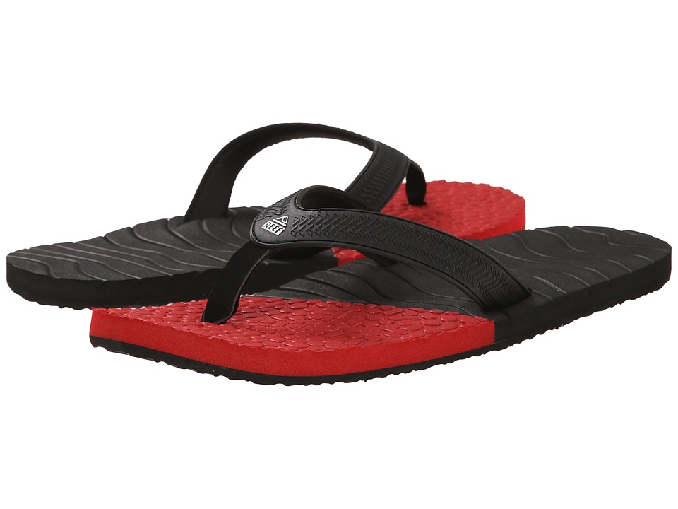 Reef - Comboswell (Black/Red) Men's Sandals