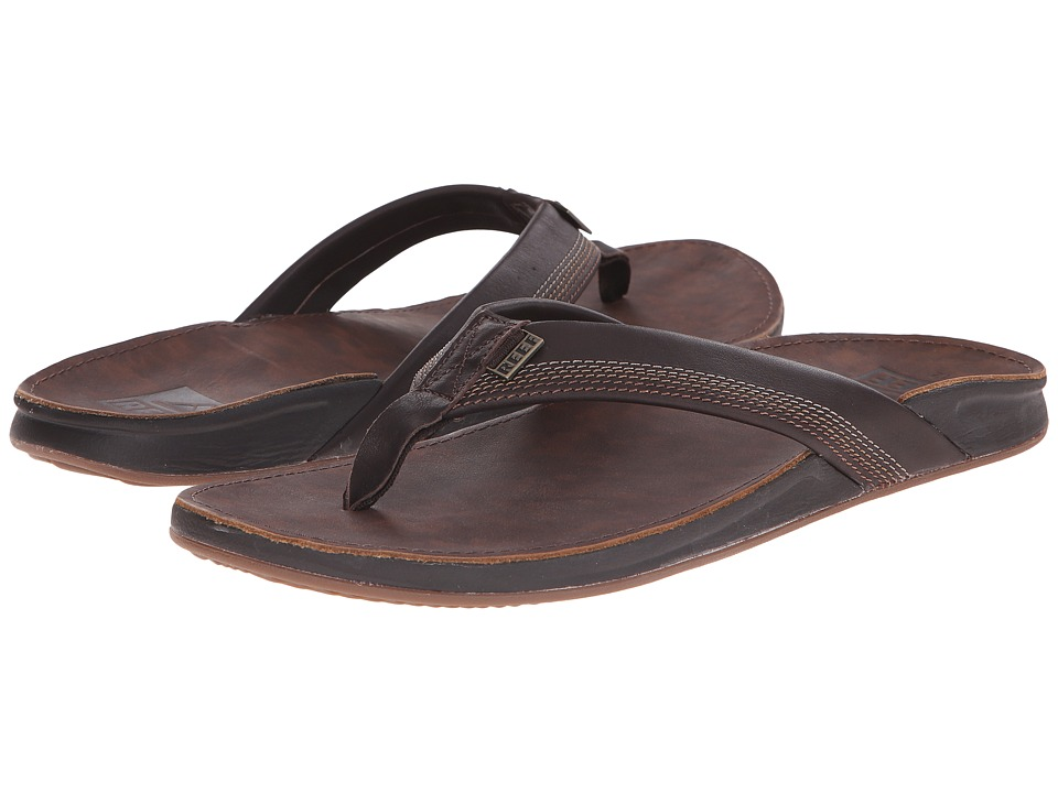 Reef - J-Bay 2 (Dark Brown) Men's Sandals