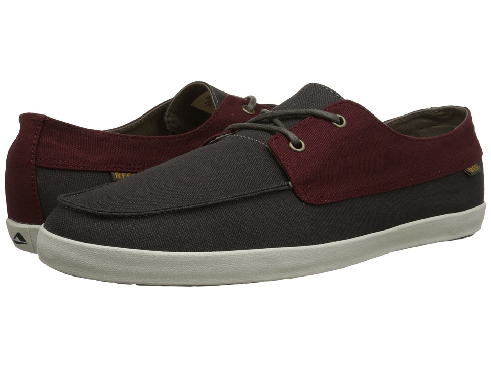 Reef - Deckhand Low (Maroon/Chocolate) Men's Shoes