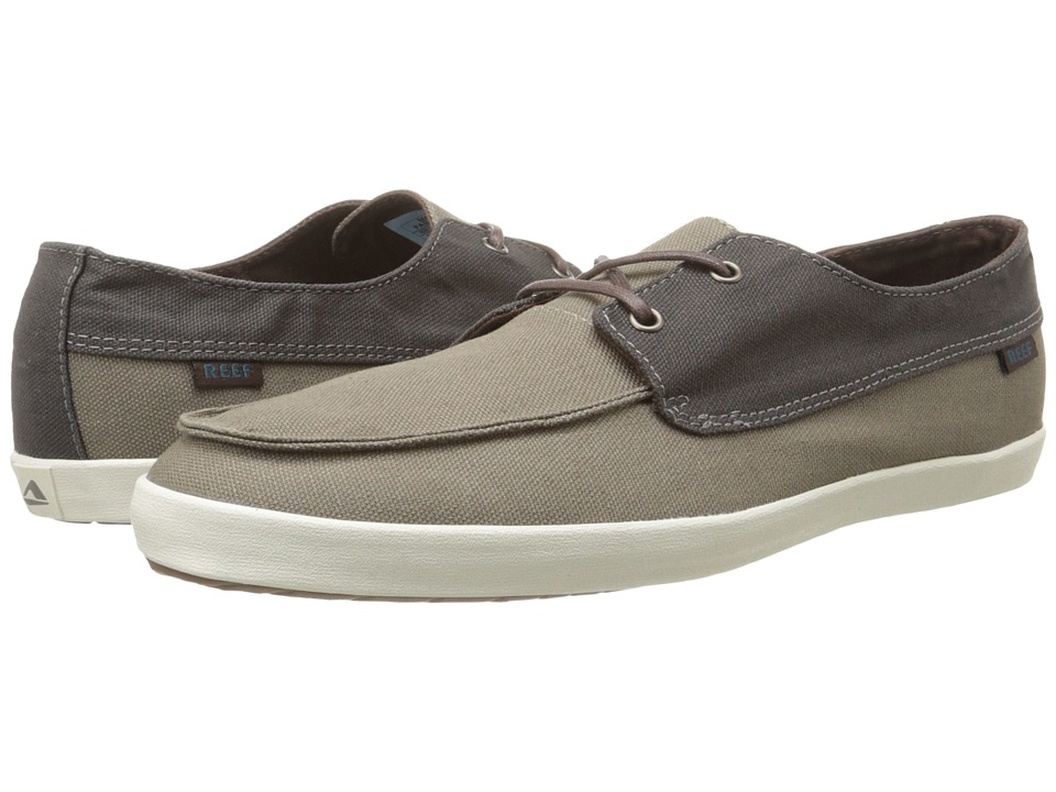 Reef - Deckhand Low (Black/Slate) Men's Shoes