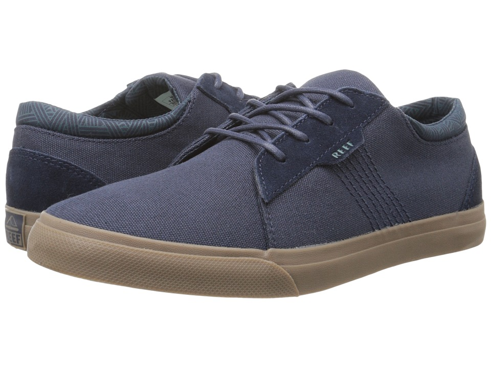 Reef - Ridge (Navy/Gum) Men's Lace up casual Shoes