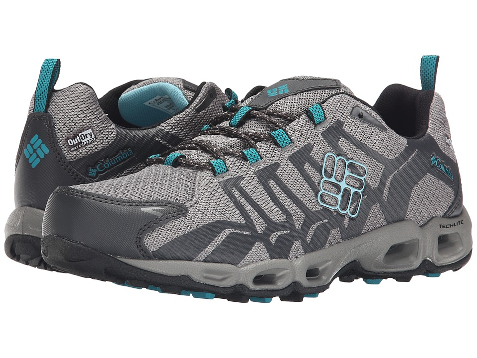 Columbia Ventralia Outdry (Quarry/Aqua) Women