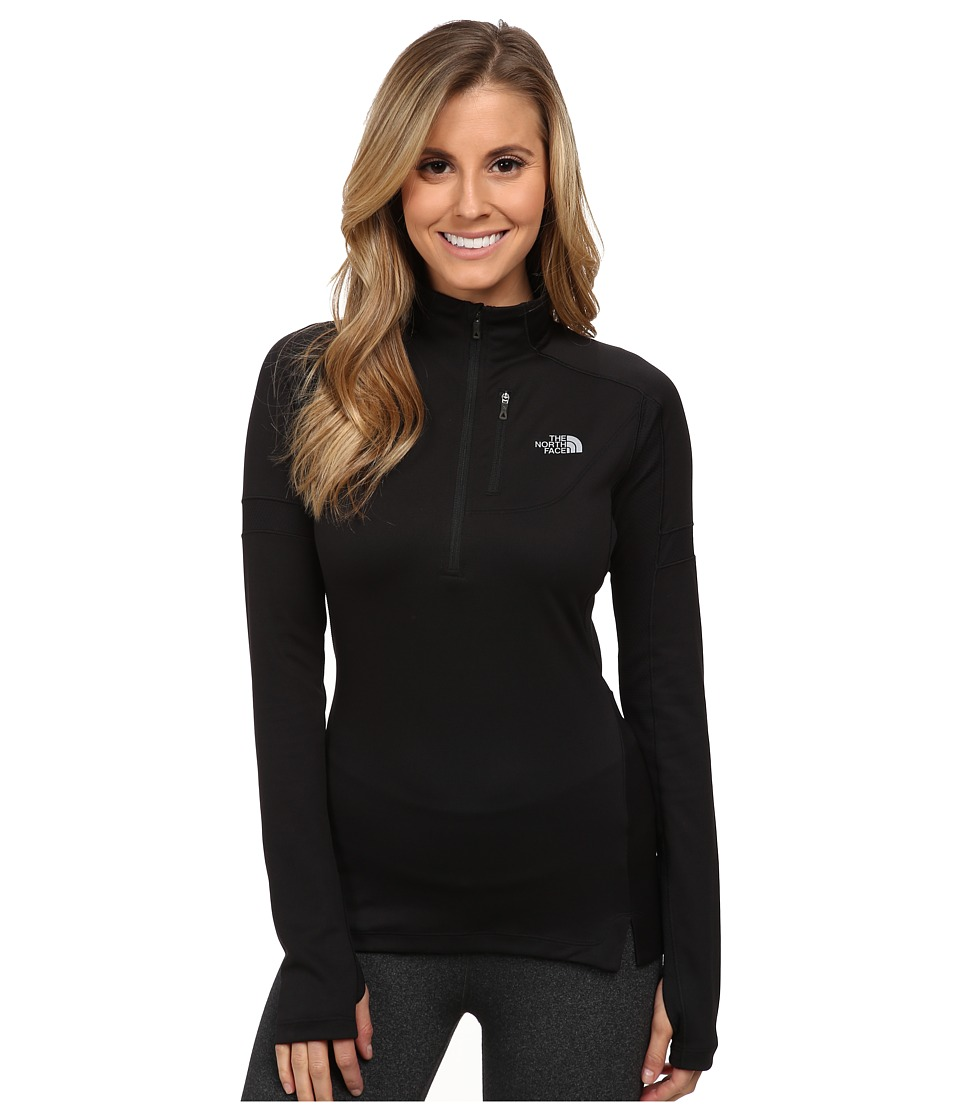 The North Face - Impulse Active 1/4 Zip Pullover (TNF Black (Prior Season)) Women's Long Sleeve Pullover