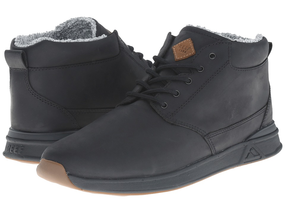 Reef - Rover Mid LS (Black) Men