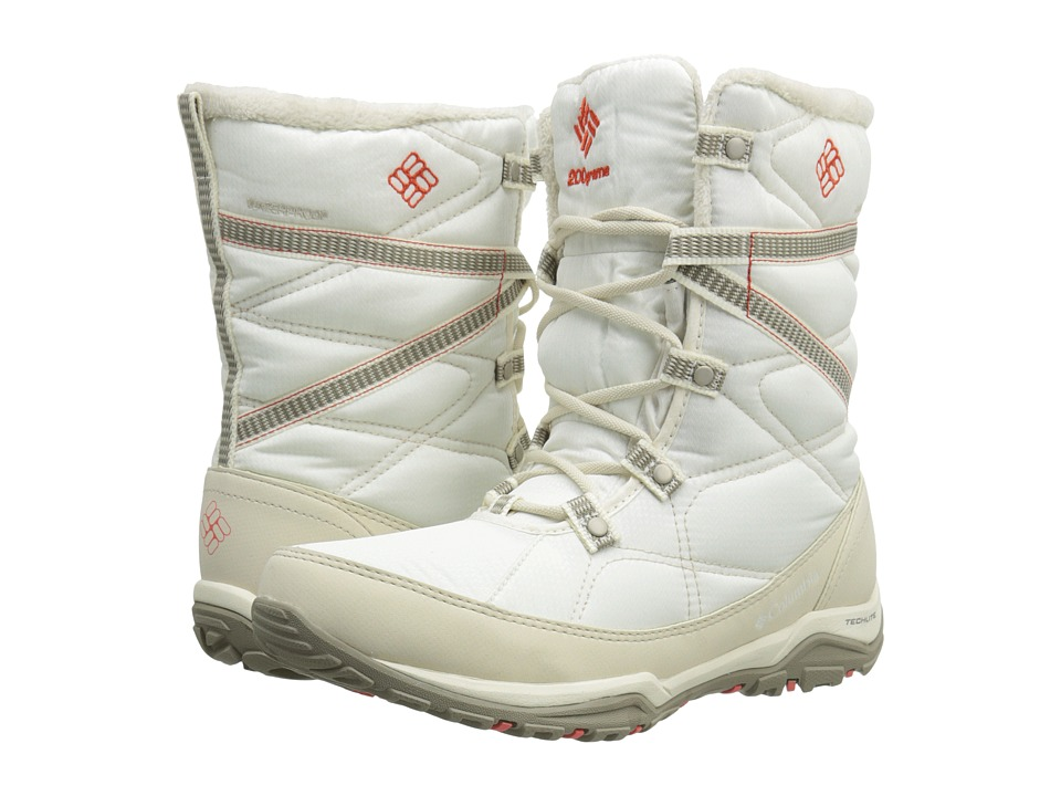 Columbia - Minx Fire Tall Omni-Heat Waterproof (Sea Salt/Corange) Women's Cold Weather Boots